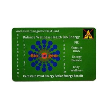 Carte protection électromagnétique et fluidité énergétique