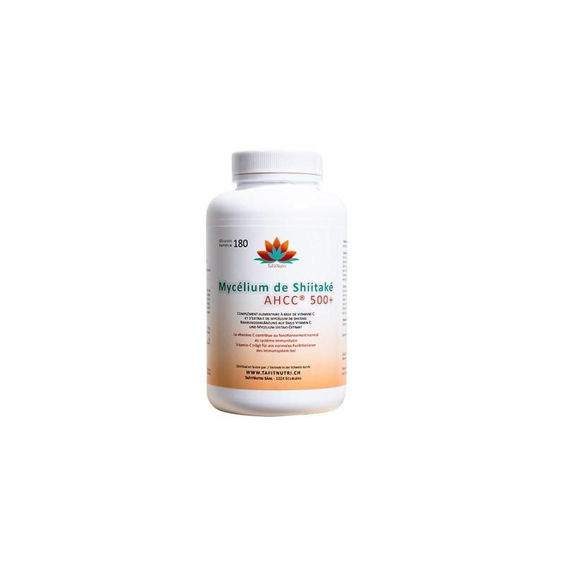Mycélium de Shiitaké AHCC® 500+ Cure